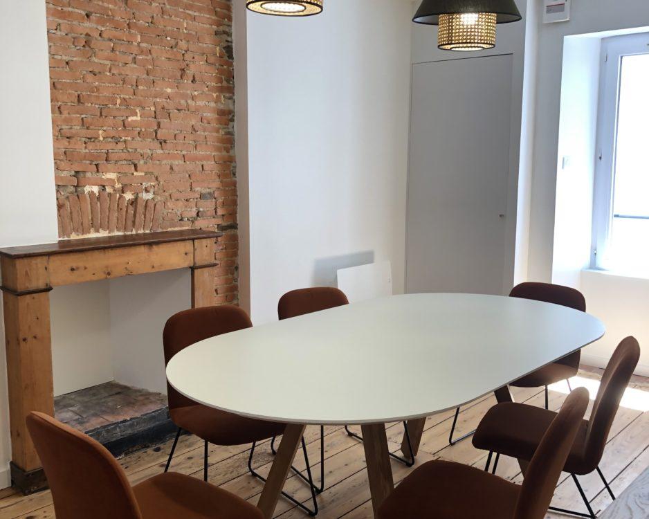 Table de réunion Agence Immo